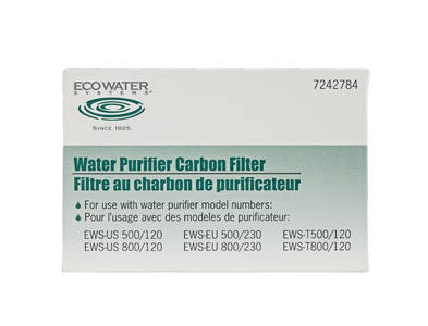 Replacement carbon filter for Aqua water distiller