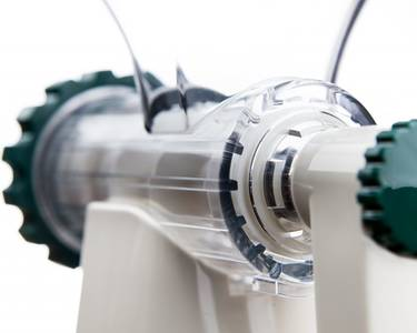 Lexen healthy juicer white closeup