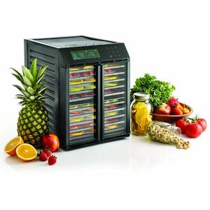 Excalibur dehydrator RES10 with produce