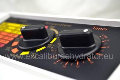 Excalibur food dehydrator 4526T controls