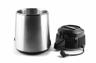 Aqua Compact water distiller chrome parts
