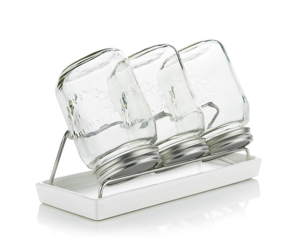 sklenice na klíčení Eschenfelder III 1000 ml