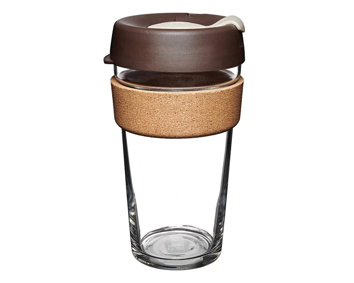 KeepCup (454 ml) ALMOND | skleněný hrnek
