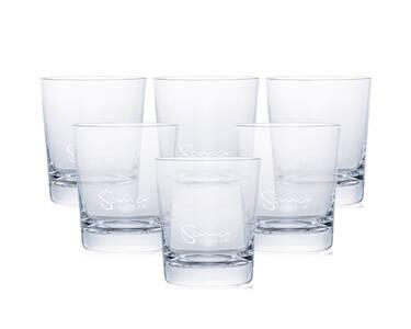 Sana 727 - sklenice z křišťálového skla (6 ks)