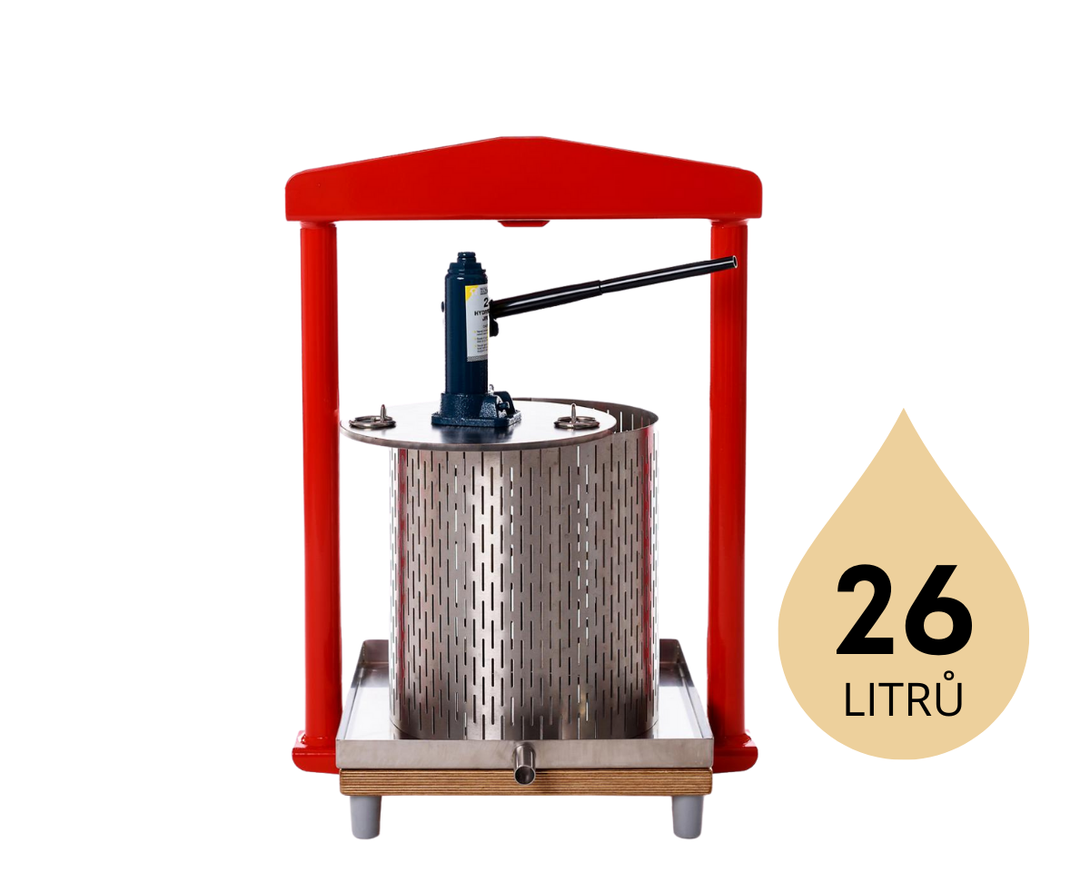 hydraulický moštovač | Fruit Press GP-26S